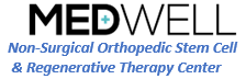 MedWell: Stem Cell Clinic Logo